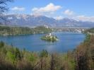 Mala Osojnica ter planine nad Bohinjsko Belo in Bledom (9.4.2017)