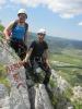 Tečaj uporabe samovarovalnega kompleta in gibanje po zavarovanih planinskih  poteh na Gradiški turi (8.5.2016)